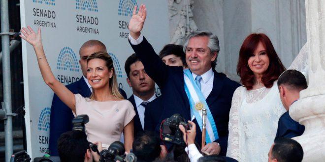 Alberto Fernández asumió la presidencia de Argentina