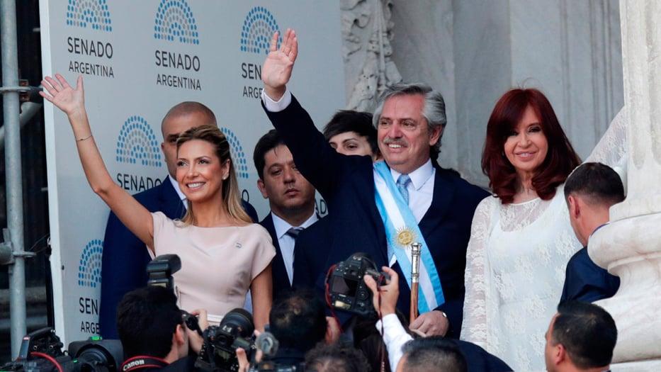 Alberto Fernández y Cristina Kirchner se juramentaron en Buenos Aires