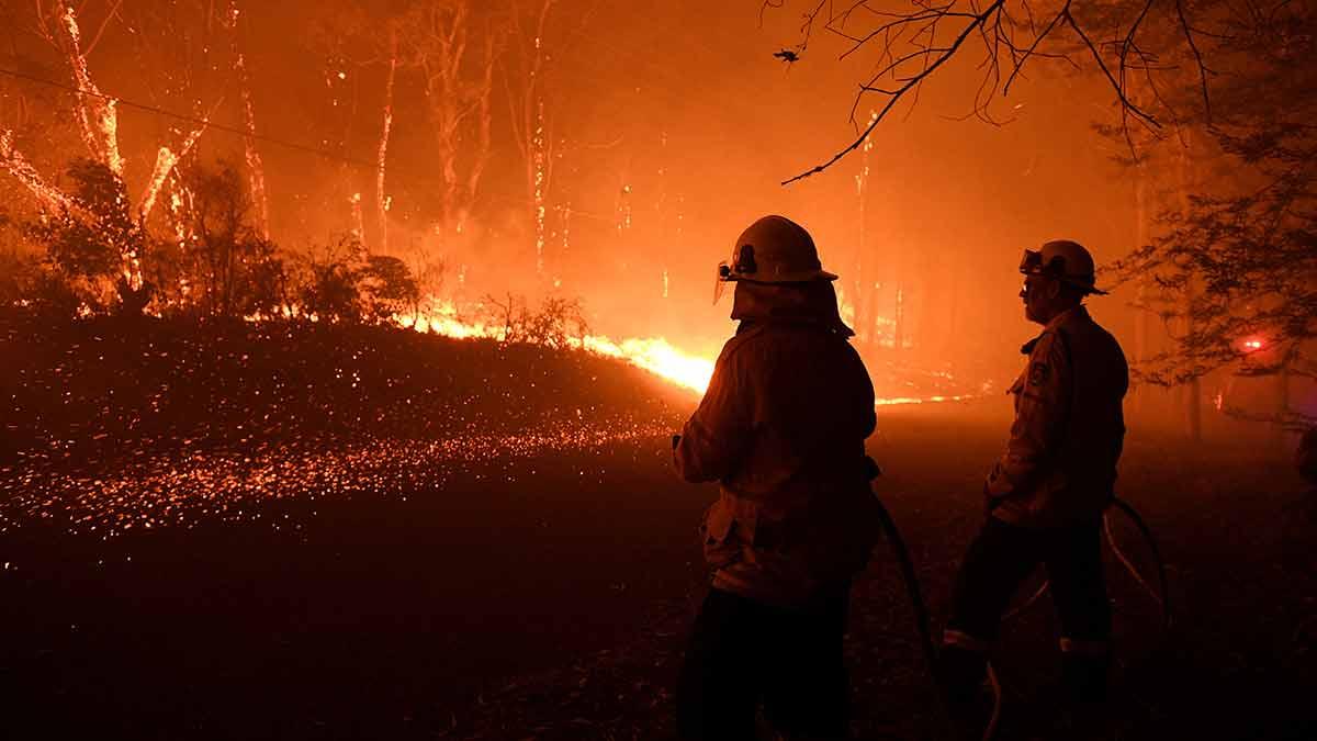 Bomberos de Sidney tratan de contener el fuego en zonas montañosas de la ciudad/ Reuters