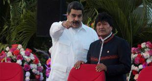 Dos activos actores del Foro de Sao Paulo han sido Nicolás Maduro y el expresidente de Bolivia, Evo Morales