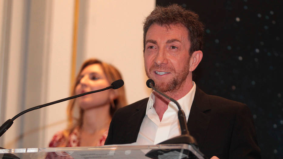 Pablo Motos recibió el premio Juan Tomás de Salas al periodismo