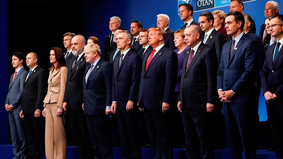 Los mandatarios de los Estados miembros de la OTAN se encuentran en Londres por la cumbre de la alianza