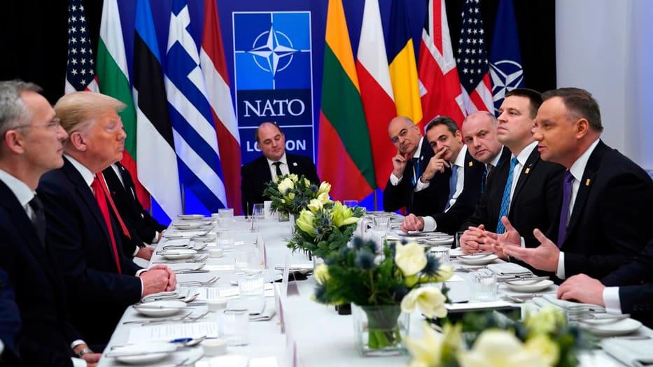 La cumbre de la OTAN culminó con mucha cordialidad entre sus líderes