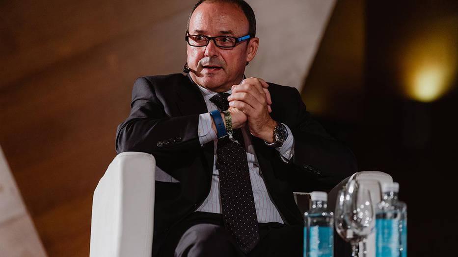 Rafael González Sánchez, director general de energías renovables de Endesa, durante el CISM / Foto: Ángel Santamaría
