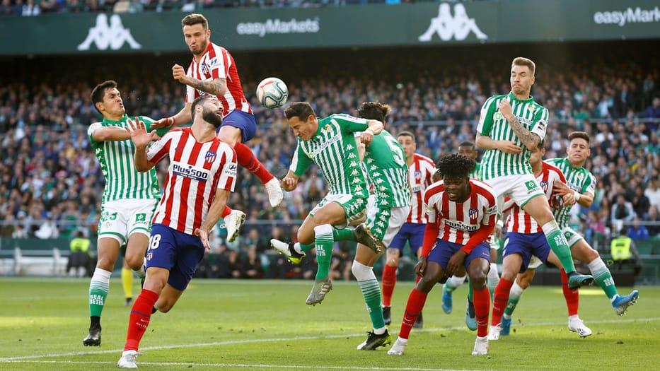 El Atlético venció en el Benito Villamarín