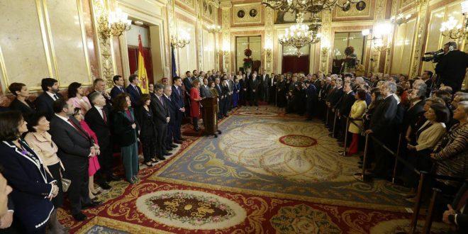 Defensa de la Carta Magna marca el Día de la Constitución