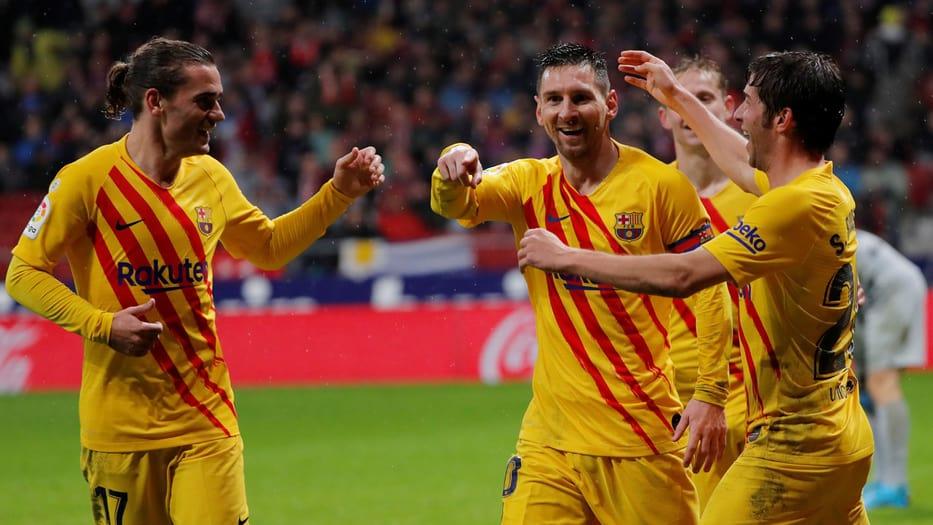 Messi Ter Stegen