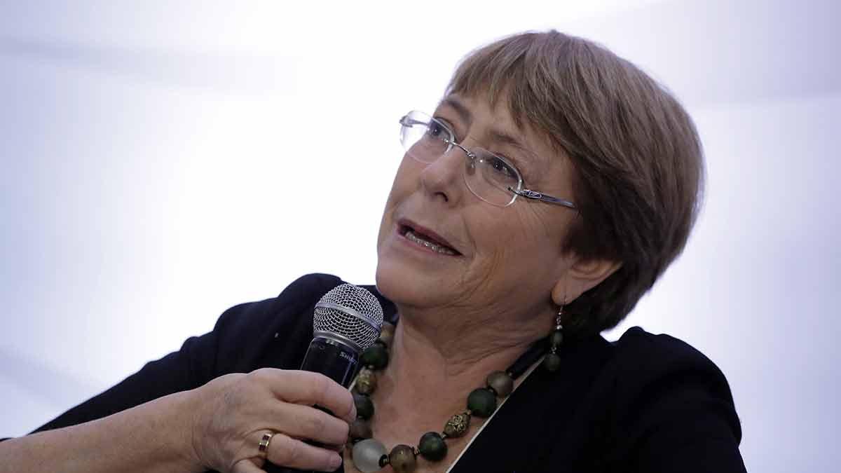 La alta comisionada para los Derechos Humanos de las Naciones Unidas, Michelle Bachelet, dijo que el cambio climático afecta más a la salud de los más vulnerables