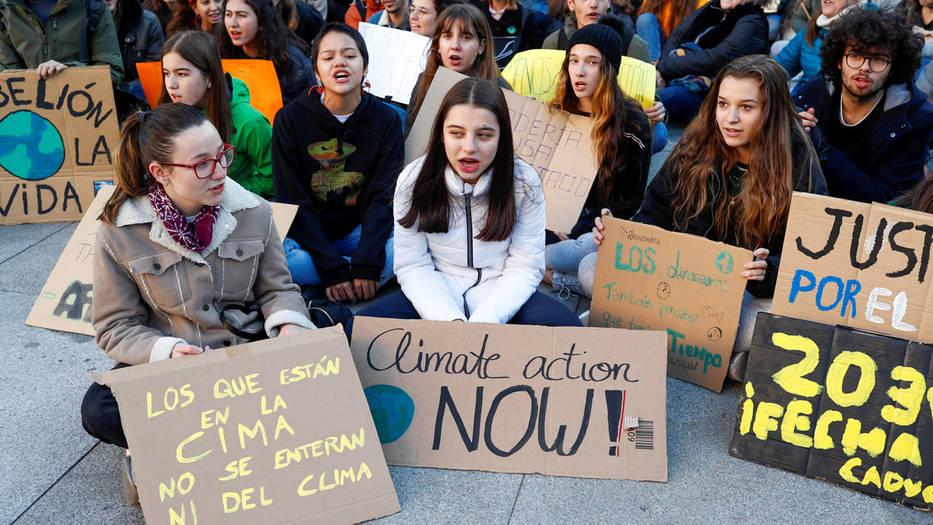 jóvenes activistas