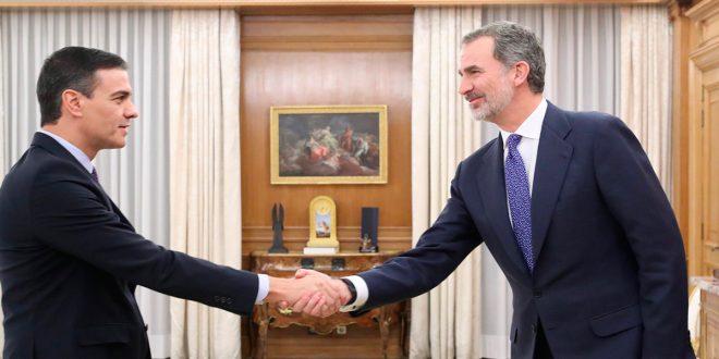 El Rey culmina las rondas de consulta y propone a Sánchez como candidato a la investidura