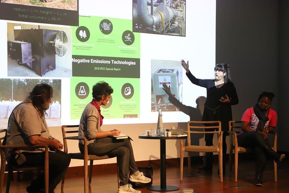 """Kathleen Draper defiende que el biochar """"es seguro, sostenible, escalable y ya está disponible"""". Foto: David A. Gonçalves Luzio / Cambio16"""