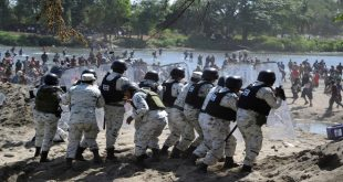 Tensión en la frontera mexicana