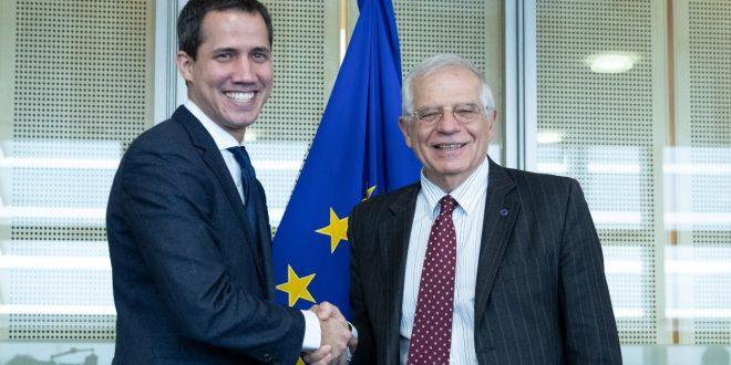 Juan Guaidó y Josep Borrell acordaron continuar el camino para solucionar crisis en Venezuela
