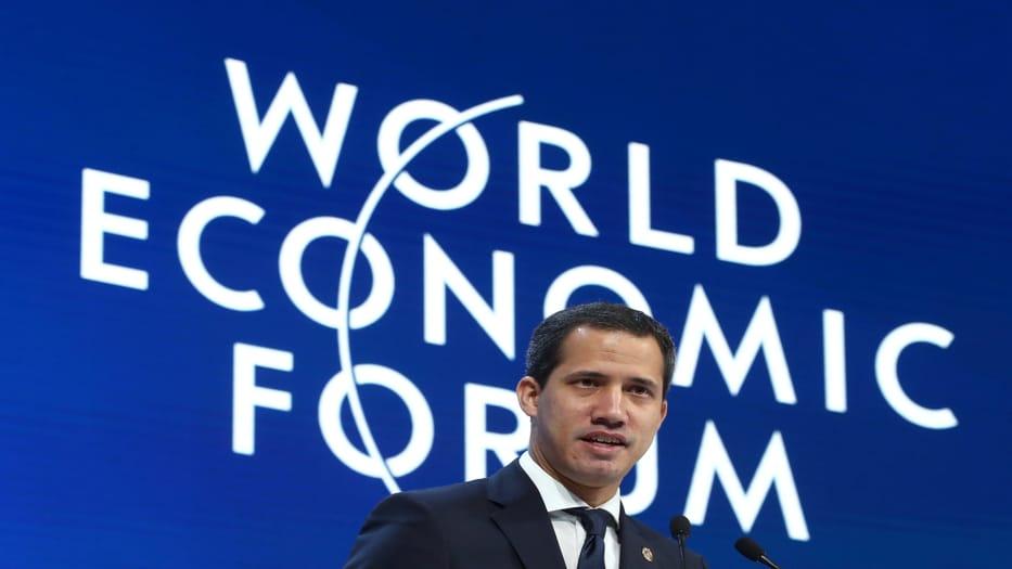 Juan Guaidó pidió a los líderes del mundo apoyo en la lucha