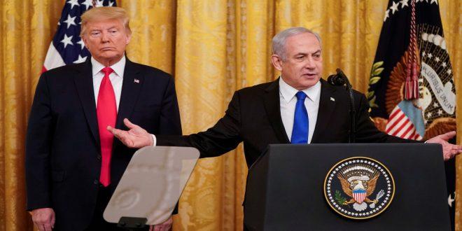 Donald Trump presentó su plan de paz para Oriente Medio