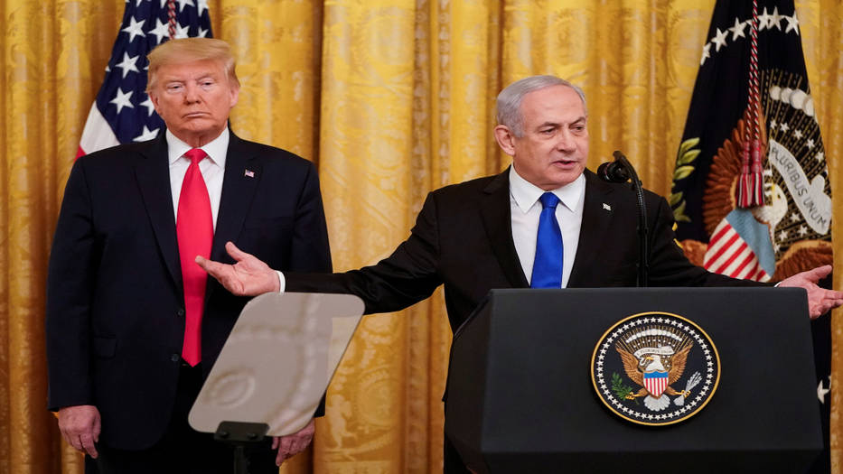 Netanyahu aceptó complacido el plan de paz de Trump