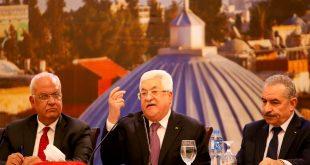 El líder de la Autoridad Palestina retó nuevamente a EEUU