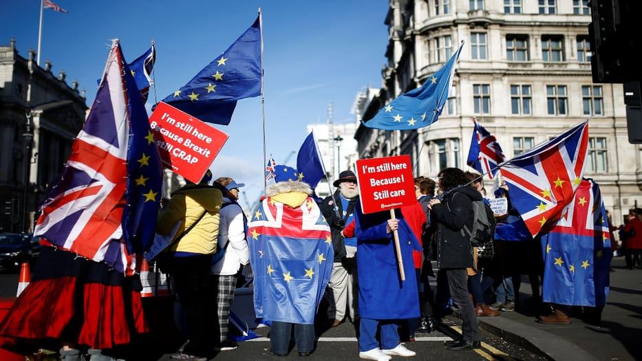 Los movimientos contra el Brexit aún alzan su voz de protesta