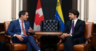 Trudeau y Guaidó hablaron sobre Venezuela