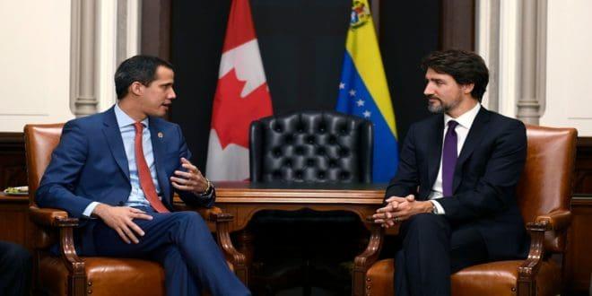 Juan Guaidó y Justin Trudeau pidieron elecciones libres y democráticas