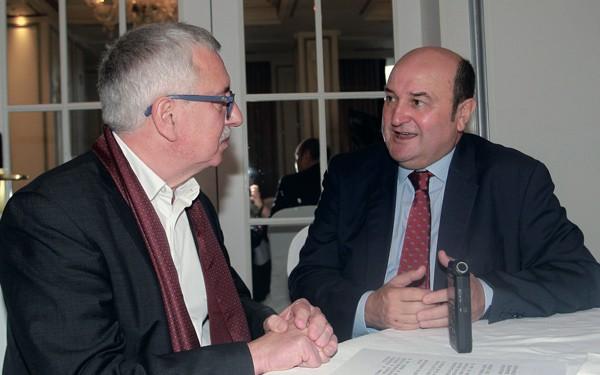 Gorka Landaburu y Andoni Ortuzar