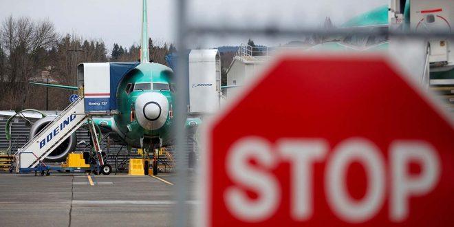 Instalaciones de producción del 737 Max de Boeing en Renton, Washington, EE. UU. Foto de Lindsey Wasson