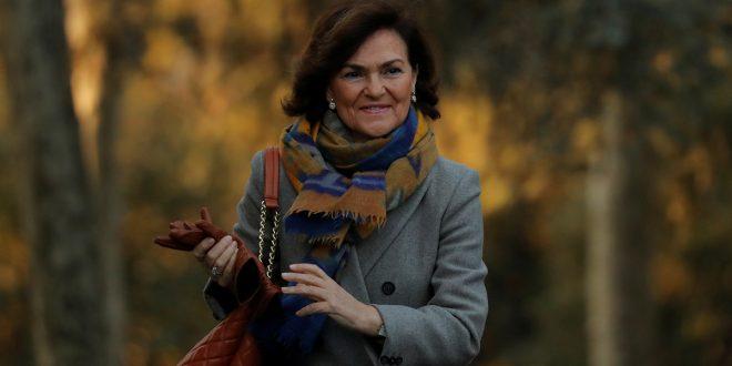Carmen Calvo: Reforma del Código Penal no se negociará con los independentistas