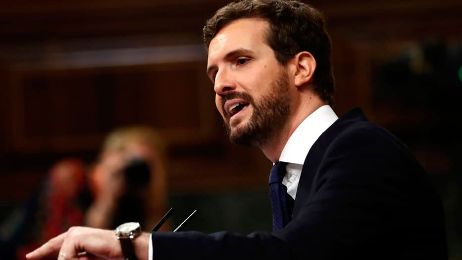 El líder 'popular' profirió duras palabras a Pedro Sánchez