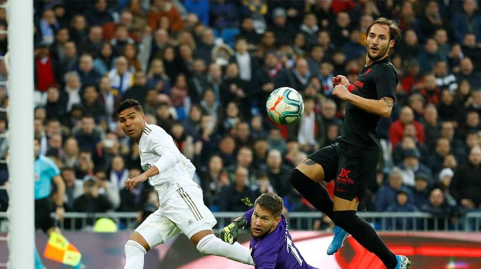 Un inspirado Casemiro selló con dos goles en el segundo tiempo el triunfo del Madrid