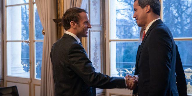 Macron apoya una elección presidencial libre en Venezuela
