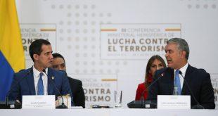 EEUU y Colombia ratificaron su apoyo a Juan Guaidó para salir del régimen de Maduro