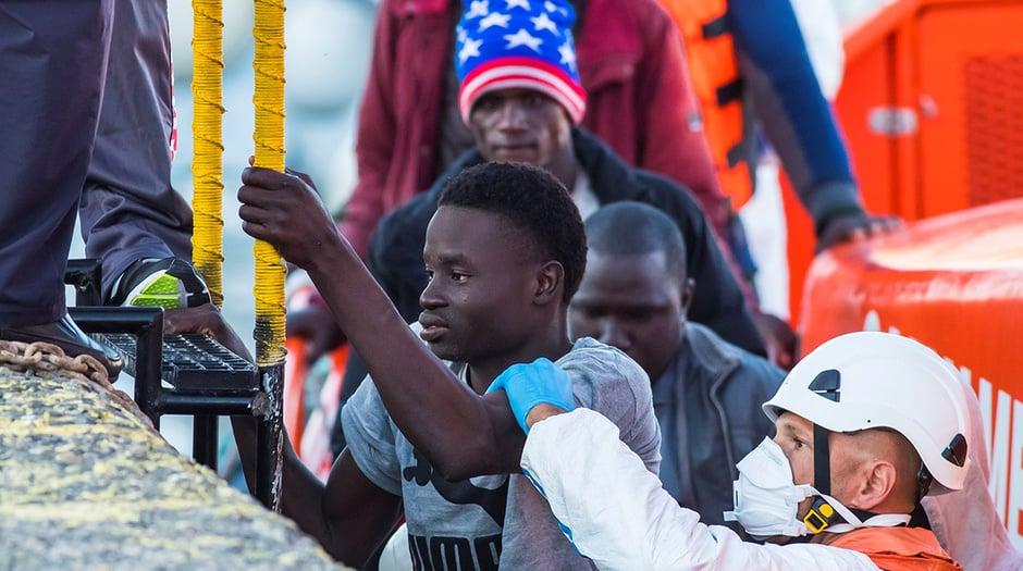 Entre viernes, sábado y domingo, casi 350 migrantes ilegales llegaron a Murcia, Canarias, Cádiz, Canarias y Alicante