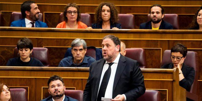 Oriol Junqueras condiciona apoyo de ERC a los Presupuestos Generales del Estado