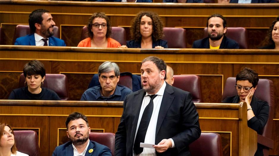 Oriol Junqueras, ex vicepresidente de la Generalitat