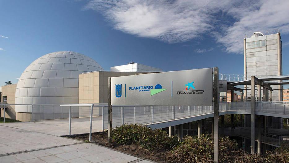Planetario de Madrid renovables