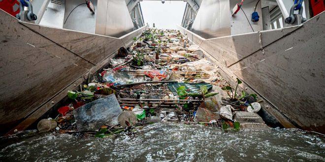 The Ocean Cleanup convierte basura marina en productos valiosos