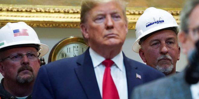 Trump anuncia cambios en la legislación ambiental de EEUU para favorecer los macroproyectos al margen del cambio climático