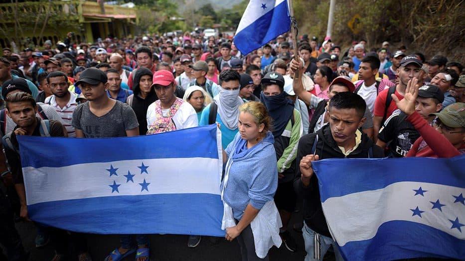 Una nueva caravana migrante pretende llegar a EEUU