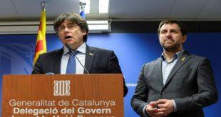 Puigdemont adelantó su intención de participar