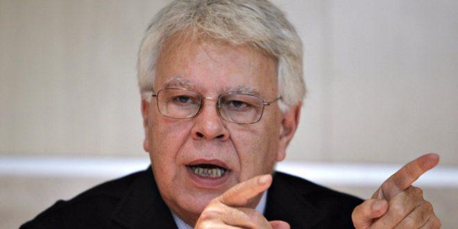 Felipe González defendió legitimidad de Juan Guaidó como presidente interino de Venezuela