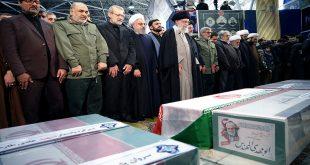 El funeral de Soleimani sirvió de excusa para volver a clamar venganza