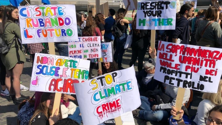 Italia será el primer país del mundo que incluya el cambio climático