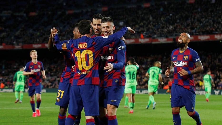 Barcelona goleó al Leganés