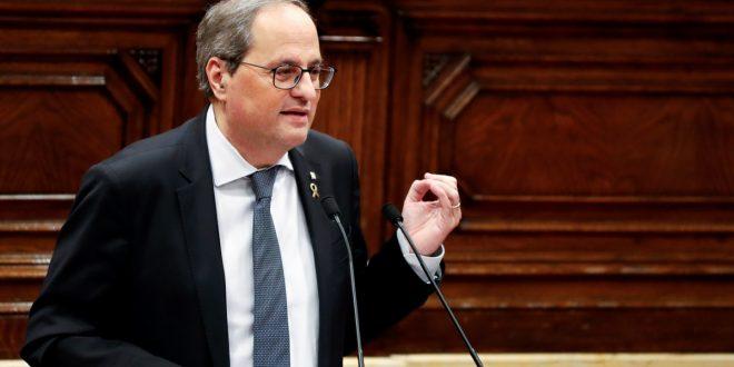"""La Fiscalía """"no se opone"""" a la suspensión de la inhabilitación exprés a Torra"""