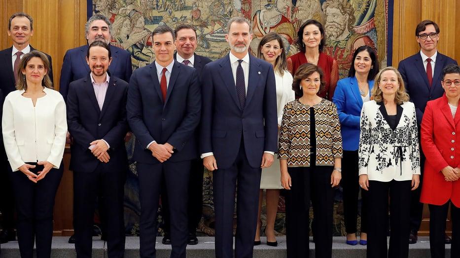 ministros cargo