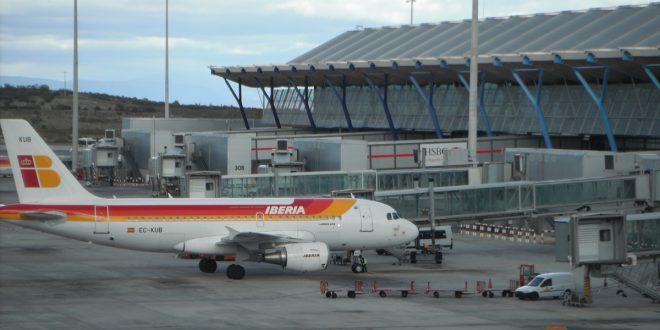 cierre del espacio aereo del aeropuerto