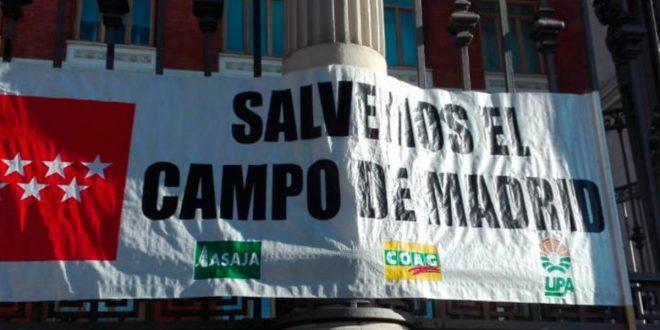 Molestas organizaciones agrarias con Pablo Iglesias y Yolanda Díaz