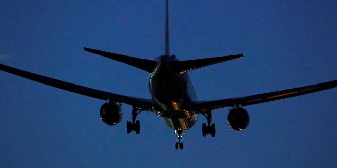 El avión de Air Canada sobrevoló por varias horas el sur de Madrid