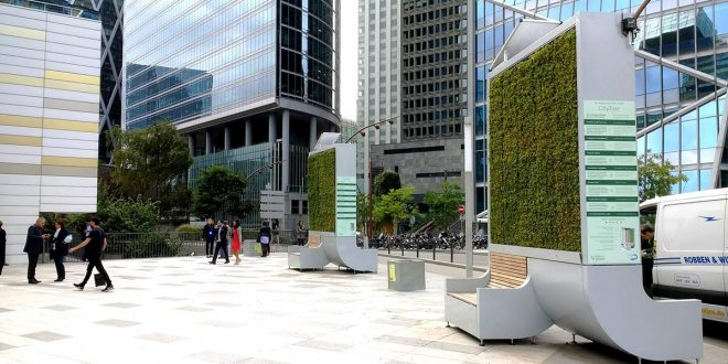 Árboles artificiales para limpiar el aire de las ciudades