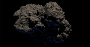 Asteroide pelota de golf